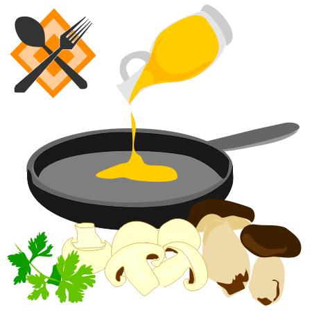 Funghi fritti (Img: Provincia di Savona)