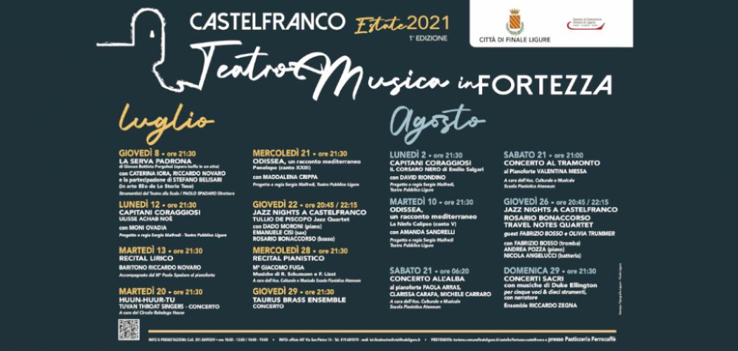Castelfranco Estate 2021 - Teatro e Musica in Fortezza