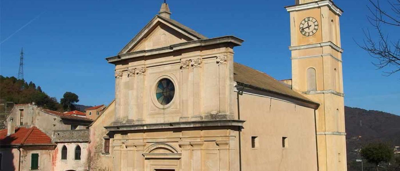 Chiesa di San Lorenzo Martire (Ph: Provincia di Savona)