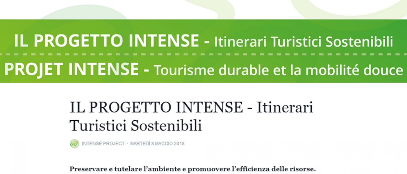 Progetto Intense Itinerari Turistici Sostenibili