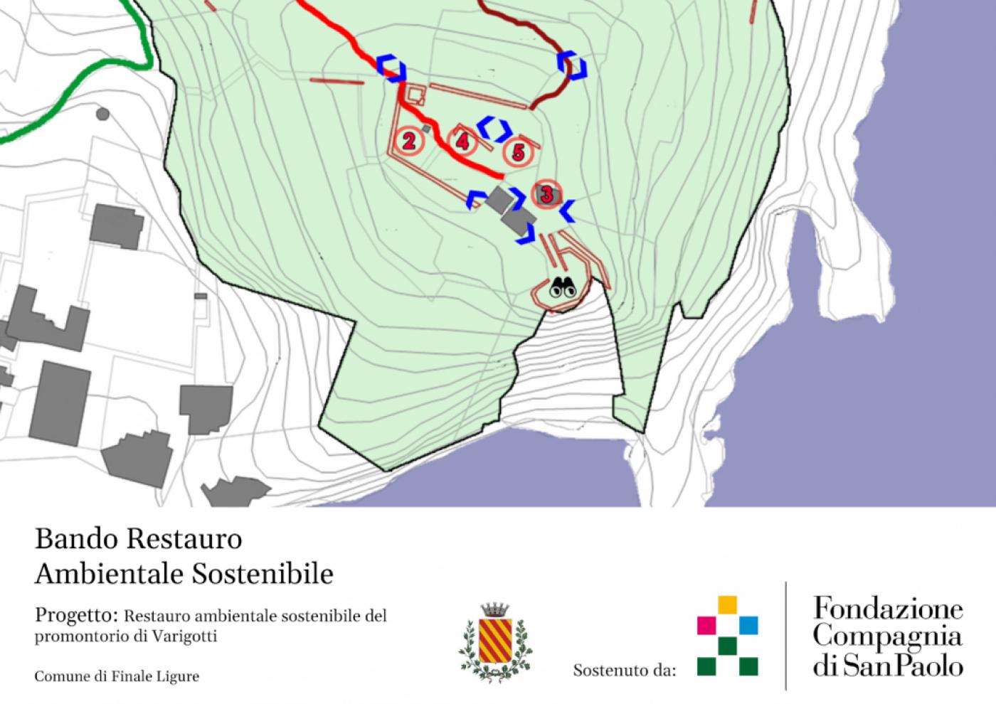 Progetto per il Restauro Ambientale Sostenibile del Promontorio di Varigotti