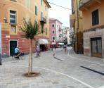 New pedestrian zone of Finalpia (Ph: Provincia di Savona)