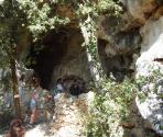 Grotta dei Balconi - ingresso (Ph: Provincia di Savona)
