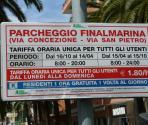 Parcheggio Finalmarina via San Pietro (Ph: Provincia di Savona)