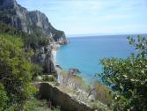 Panorama su Baia dei Saraceni da San Lorenzo (Ph: Provincia di Savona)