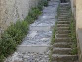Scala di accesso al sentiero  (Ph: Provincia di Savona)