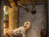La macinazione dei cereali nel Neolitico, Museo Archeologico del Finale (Ph: W. Nesti)