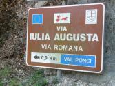 Via Iulia Augusta (Ph: Provincia di Savona)