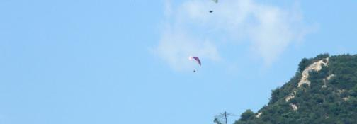 Paragliding and Hang Gliding (Ph: Provincia di Savona)