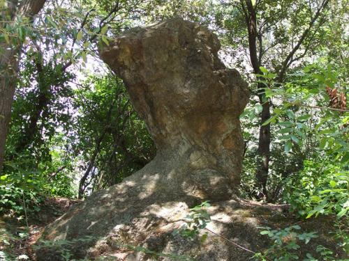 Menhir di Verzi (Ph: Provincia di Savona)