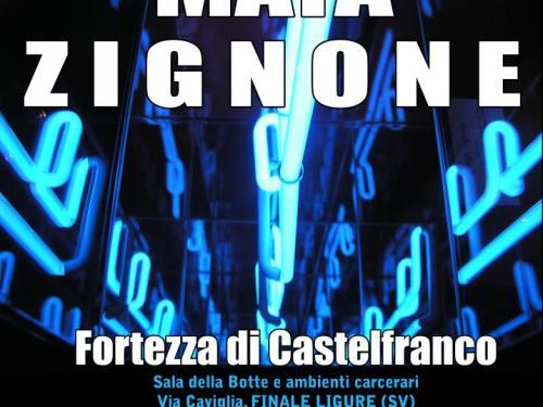 Maya Zignone espone alla fortezza di Castelfranco