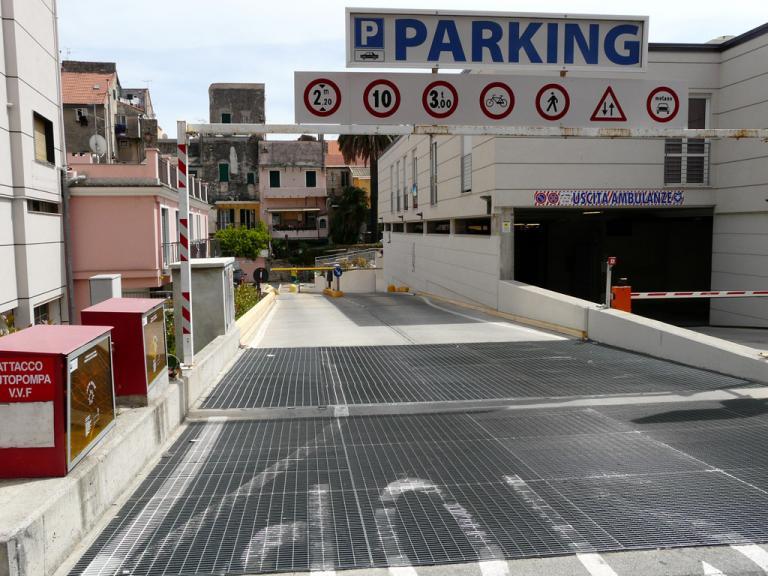 Parcheggio Autosilos (Ph: Provincia di Savona)