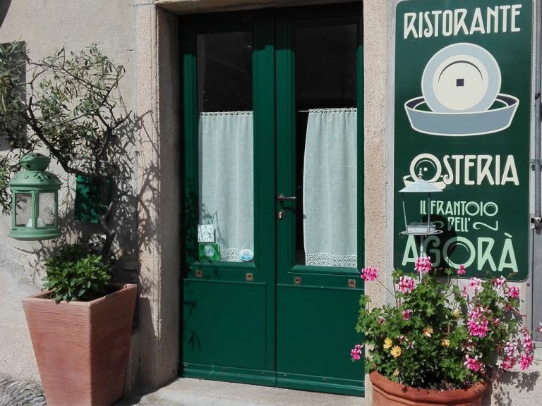 Osteria dell'Agorà (Ph: Provincia di Savona)