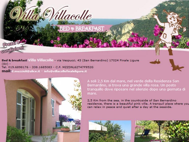 Villa Villacolle (Ph: anteprima pagina web della struttura)