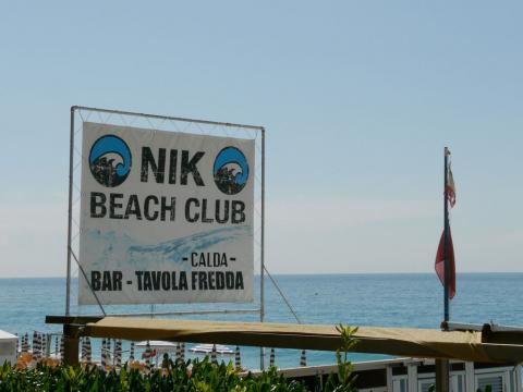 Bagni Nik Beach Club (Ph: Provincia di Savona)