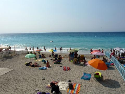 Spiagga libera Finalpia (Ph: Provincia di Savona)